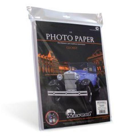 Фотобумага, глянцевая, A4, 180г/м2, 100 л.