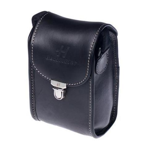 Stellar camera case black leather
