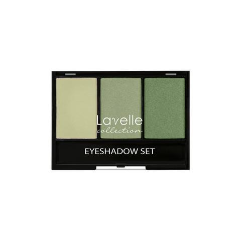 Лавелль тени ES-27 тройные тон 03 зеленый