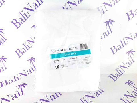 Чистовье Салфетка спанлейс 15х20 см, 100 шт