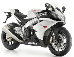 Комплект пластика для мотоцикла Aprilia RSV4 1000 2010-2017 Белый Заводской