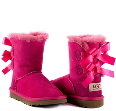UGG Kids Bailey Bow Rose