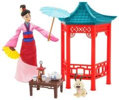 Кукла Мулан и чайная церемония  - Mulan, Disney