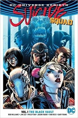 Suicide Squad Vol 1 The Black Vault (Rebirth)