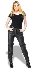 Женские кожаные мотоштаны - Sweep Nikita - Finland