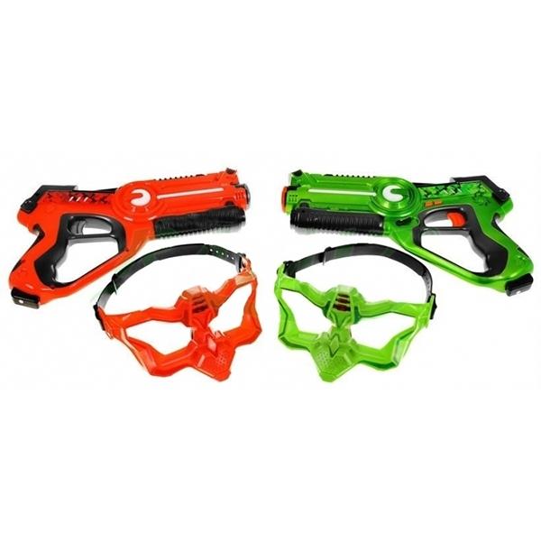 Комплект оружия для лазертага Call to Life (пистолет и маска)
