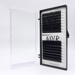 """NovaSecret Ресницы Novasecret NOIR Черные, изгиб """"M"""" Noir-M-Mix.jpg"""