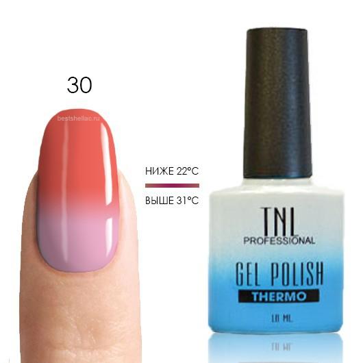 Термо Термо гель-лак TNL 30 - персиково-розовый/молочно-розовый, 10 мл 30.jpg