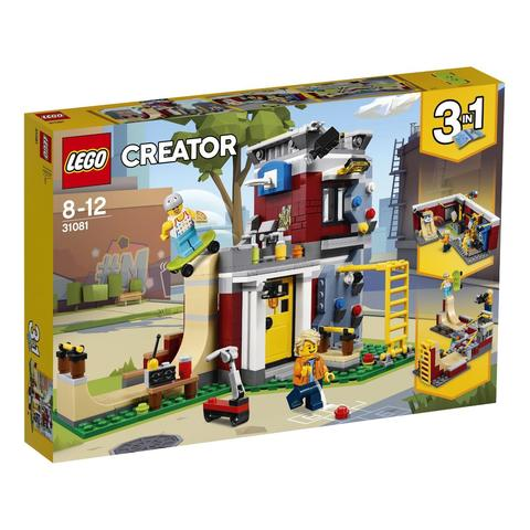 LEGO Creator: Скейт-площадка 31081 — Modular Skate House — Лего Креатор Создатель