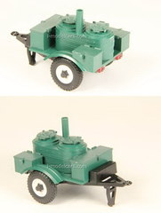 Trailer KP-2-48 field kitchen military Agat Mossar Tantal 1:43