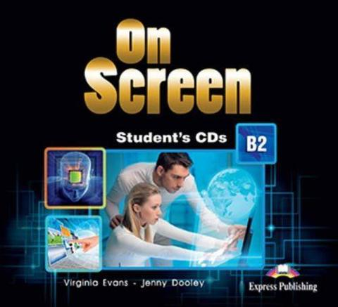 On Screen B2. Student's CD's (set of 2) REVISED. Аудио CD для работы  в классе (2 шт).