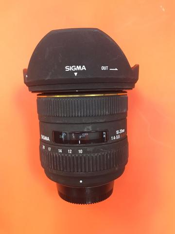 Sigma 10-20mm f/4-5.6 EX DC комиссия