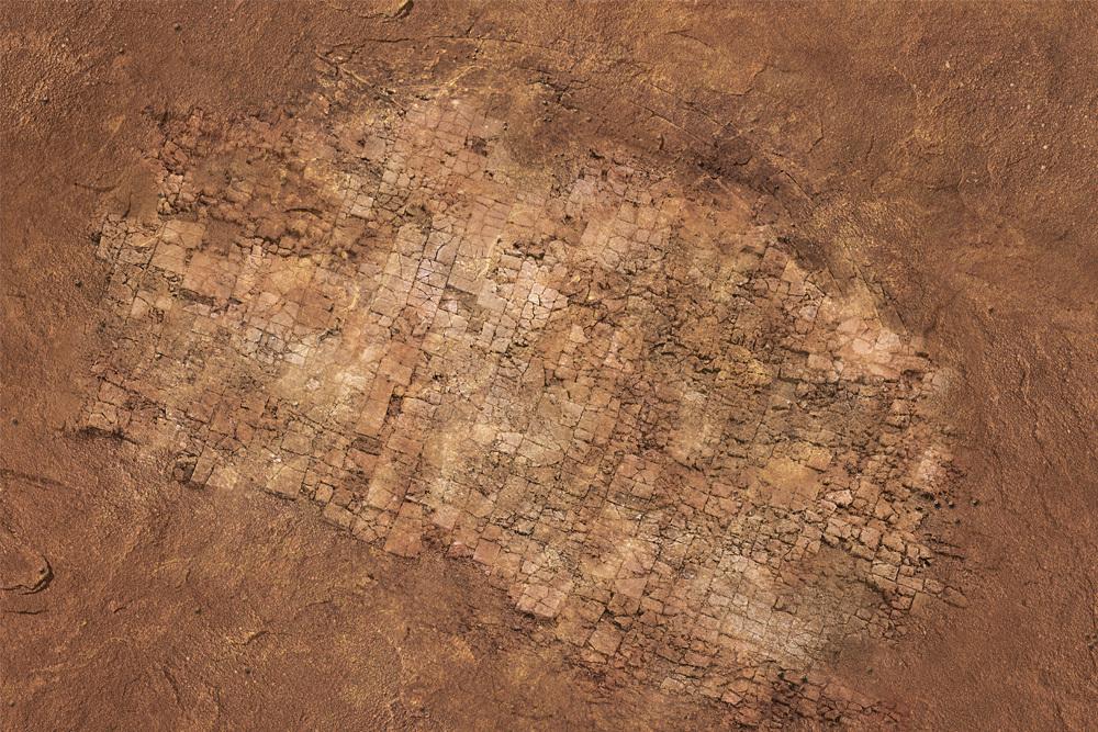 Игровое покрытие Deserted heart 120x180 см