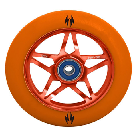 Колесо для самоката HAVOC 120mm (Orange)