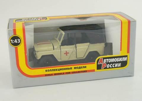 UAZ-469 Ambulance Agat Mossar Tantal 1:43