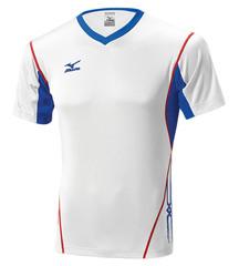 Мужская волейбольная футболка Mizuno Premium Top (V2EA4501M 01) мужская