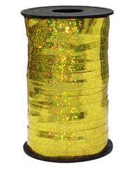 Лента голография (0,5 см x 250 м) Золото-светлое