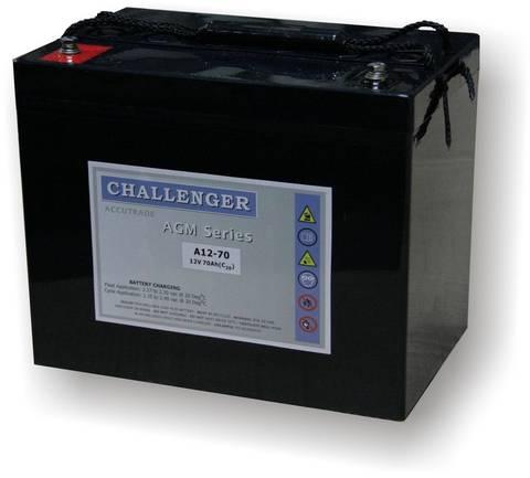 Аккумуляторы Challenger A12-75 - фото 1