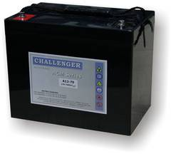 Аккумулятор Challenger A12-75 - фото 1