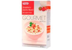 Мюсли Брюгген с йогуртом клубника-ваниль, 375г