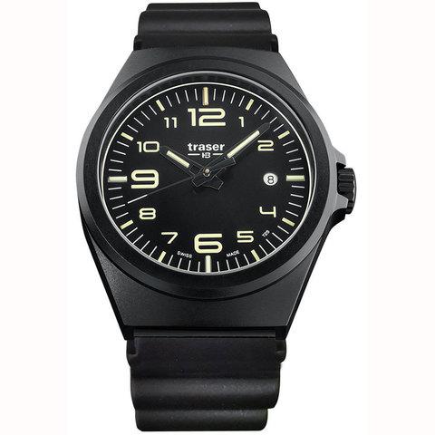 Купить Швейцарские тактические часы Traser P59 ESSENTIAL M BLACK 108219 по доступной цене