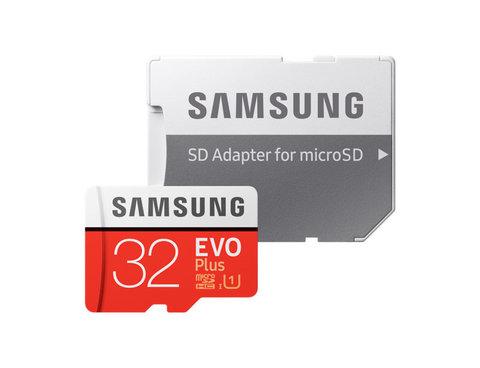 Карта памяти 32Gb Samsung EVO PLUS V2 Class 10