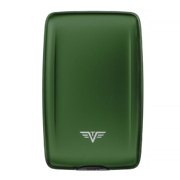 Кошелек c защитой Tru Virtu OYSTER 2, цвет зеленый, 110*69*28 мм