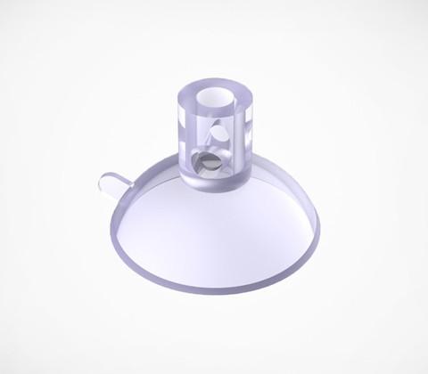 Присоска силиконовая с тремя отверстиями SC-30DH