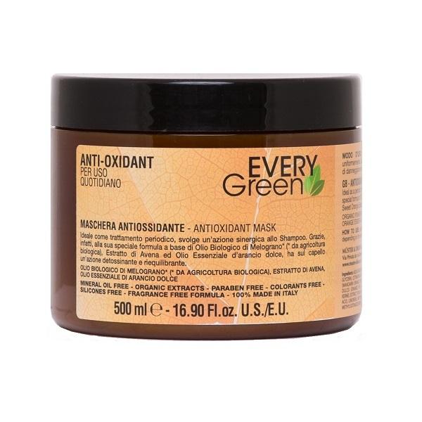 Маска для волос антиоксидант Dikson Every Green Anti-Oxidant Mashera Antiossidante 500мл