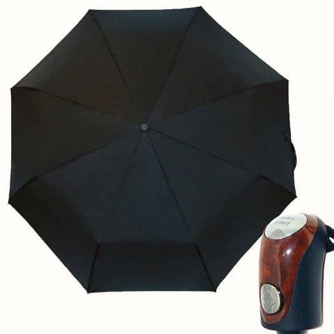 Купить элитный чёрный зонт автомат