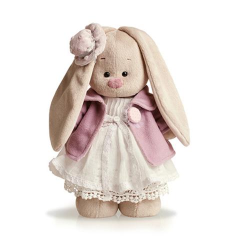 Зайка Ми в фиолетовом пальто и белом платье (малая)