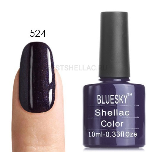 Bluesky shellac Bluesky shellac 80524, 10 мл 524.jpg