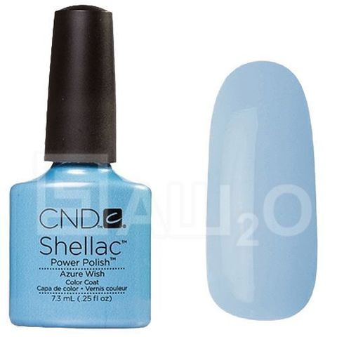 SHELLAC Azure Wish 7.3ml.