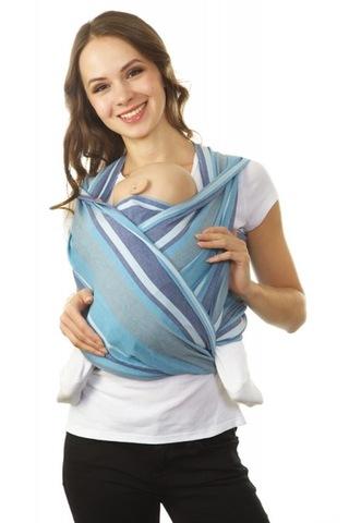 Слинг-шарф 07530 синий