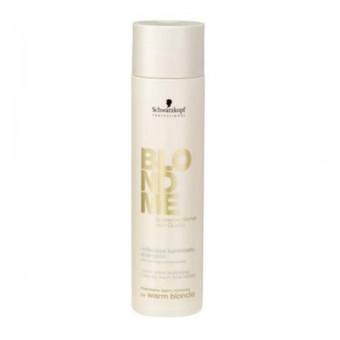 Шампунь для поддержания теплых оттеноков светлых волос BLONDME SCHWARZKOPF, 250 мл.