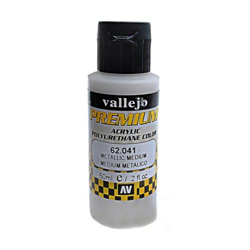 62041 Premium Colors Metallic Medium Металлическое Связующее, 60 мл Acrylicos Vallejo