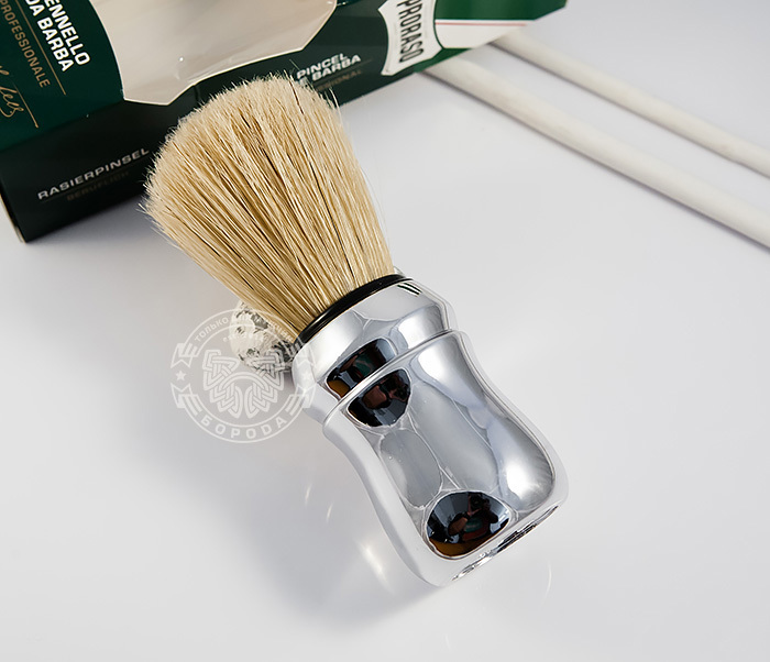 RAZ400102 Классический помазок для бритья «Proraso», щетина кабана фото 01