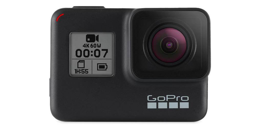 Экшн-камера GoPro HERO7 Black Edition (CHDHX-701-RW) вид спереди