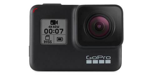 Экшн-камера GoPro HERO7 Black Edition (CHDHX-701-RW) вид спереди