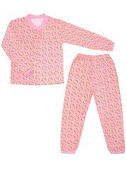 642-1 пижама детская, розовая
