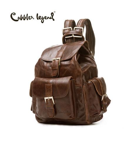 Рюкзак кожаный Cobbler Legend CL 061