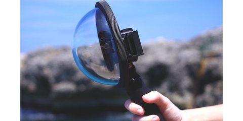 Купол для съемки в воде PolarPro Fifty Fifty H-5 с камерой