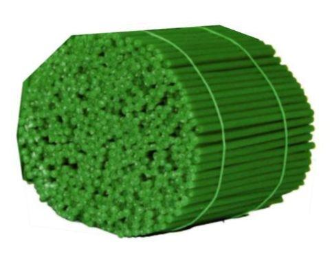 Свечи 140 восковые, зеленые, 500 гр