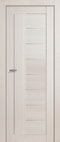 Дверь Profil Doors №17X-Модерн, стекло матовое, цвет эш вайт мелинга, остекленная