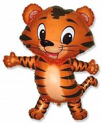 F Мини фигура Тигрёнок (чёрный) / Tiger cub (14