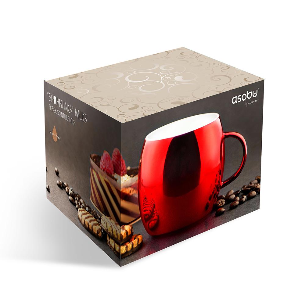 Кружка Asobu Sparkling mugs (0,38 литра) стальная