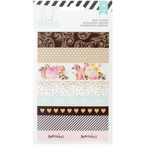 Скотчи декоративные  Heidi Swapp Memory Planner Washi Sticker