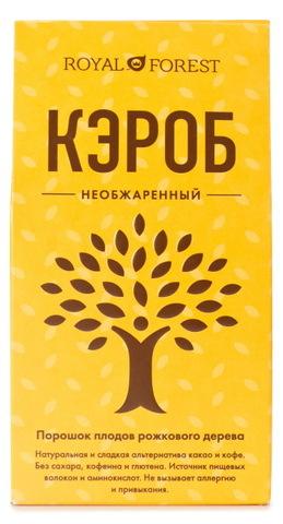 Кэроб необжаренный, 200 гр (Испания), 200 г,  Royal Forest