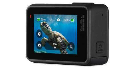 Экшн-камера GoPro HERO7 Black Edition (CHDHX-701-RW) ЖК экран