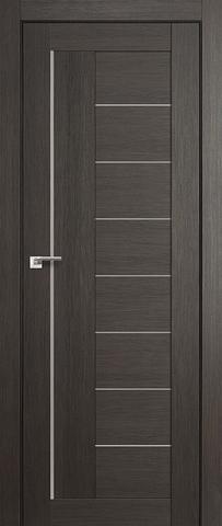 Дверь Profil Doors №17X-Модерн, стекло матовое, цвет грей мелинга, остекленная